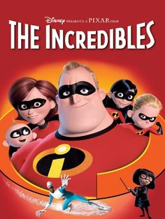 The Incredibles  This movie is incredible.  Mr. Incredible is a superhero who is forced to retire and take a job as an insurance claims adjuster.  When he decides that he needs to become a superhero again, his whole family gets in on the act.