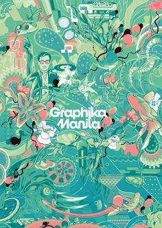 Graphika Manila 12 Gig Set by Vincent Rhafael Aseo, via Behance