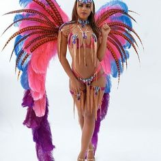 Who's ready for Come through Scarlett powered by Campari Designed by: Model:… Jamaica Carnival, Carnival Girl, Carnival Outfits, Trinidad Carnival, Showgirl Costume, Costume Carnaval, Samba Costume, Carribean Carnival Costumes, Caribbean Carnival