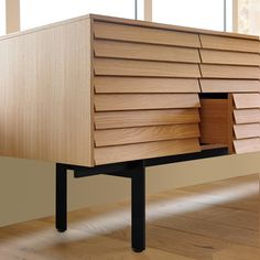 Shop the Sussex Sideboard and more contemporary furniture designs by Punt Furniture at Haute Living. Woodworking Joints, Easy Woodworking Projects, Woodworking Bench, Woodworking Classes, Home Design, Decor Interior Design, Diy Furniture, Furniture Design, Unique Wood Furniture