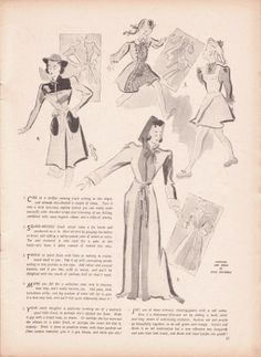 1941, revitalizing dresses, make do and mend; no pic tues for suggestions 1-3
