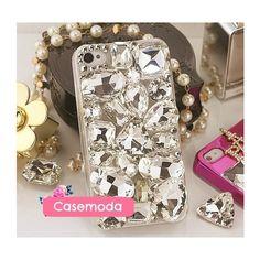All Big Crystals iPhone 4 Case
