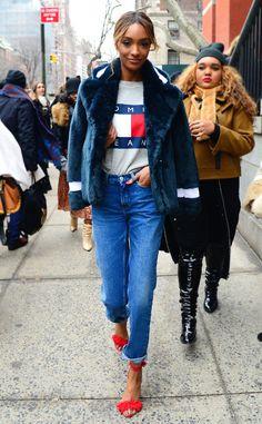 Oh, Snap! '90s-Inspired Fashion Is Back ESC: 90's Fashion, Jourdan Dunn