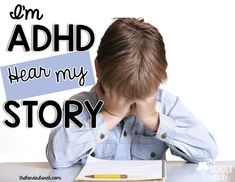 Have a child or children in your classroom with ADHD? Hear my story and see how you can help!
