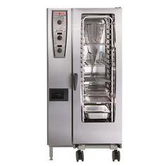 Rational SCC202G/N 20 Grid Self Cooking Center 2/1GN Natural Gas Combination Oven - GJ079-N
