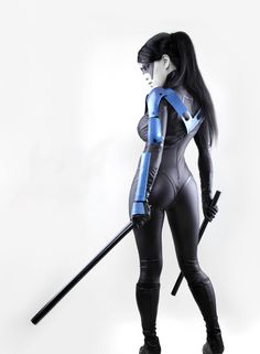 Nightwing is always Ready by *VampBeauty on deviantART