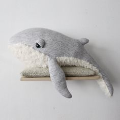 BigStuffed from BigStuffed on Etsy - Fabric Crafts for Diy and Crafts Big Stuffed, Whale Plush, Soft Toys Making, Etsy Fabric, Pet Pigs, Animal Design, Animal Memes, Fabric Crafts, Gifts