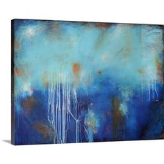 Great Big Canvas In to the Blue by Erin Ashley Painting Print on Canvas