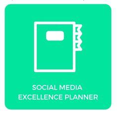 Social media content planner in Excel van Bureau Up Social Media Content, Van, Letters, Templates, Stencils, Letter, Vorlage, Lettering, Vans