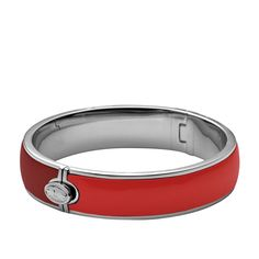 FOSSIL® : Wide Resin Bangle – Red