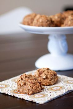 Easy, No-Bake Recipe for Healthy Cookies- Now on the Cafe Zupas Blog. Great for a sweet treat, or for quick breakfast!