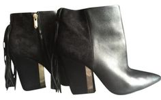 Sam Edelman Leather Black Boots