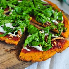 Minty Anne: Carrot Crust Pizza (V)