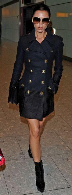 VICTORIA BECKHAM. #OuterwearKisyovaLazarinova