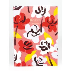 Painted Flowers Notebook