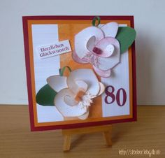 stampin up, cards  orchid