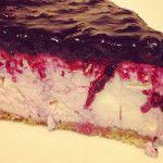 Cheesecake com Amoras - Receitas Já, rapidas, faceis e simples Culinária para todos!!!