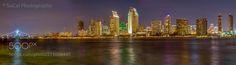 San Diego Skyline by socalphotography
