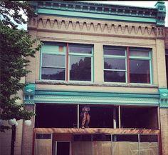 Cartolina retail renovation, Nelson BC via Instagram http://instagram.com/fionacartolina