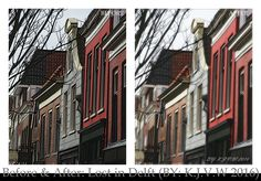 https://flic.kr/p/GESpv1 | Before And After: 30 | Lost in Delft  I found the original photo a bit sharp for my taste. I gave it a some blur.  The Tutorial Below:  1-Duplicate Layer |Background layer (Normal 100%) rename: Surface blur)  2-Surface Blur |Radius (50 pixels) |Threshold (175 levels) (normal 100%)  3-Duplicate layer |Background layer (Screen 50%) (rename: Screen)  4-Brightness/Contrast |Brightness (25) |Contrast (25) (normal 75%)  5-Duplicate layer |Screen  (soft light 25%)…