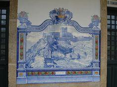 Painel de Azulejos: Castelo de Marvão - Marvão-Beirã | Flickr – Compartilhamento de fotos!
