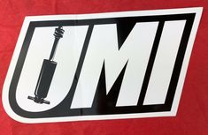 UMI Performance Long Die Cut Sticker Decal