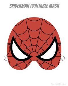 Printable Hero Masks | rickabamboo.com | #superhero #free #costume #spiderman