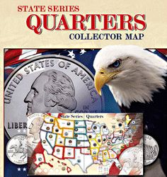 11 best State Quarter Maps images on Pinterest | Blue prints, Cards ...