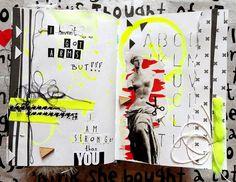 art journal pages - Guru Krolowa