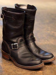 Wesco Horse Hide Engineer Boots