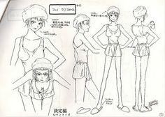 Kaubôi bibappu: Cowboy Bebop (TV Series 1998) Model Sheets