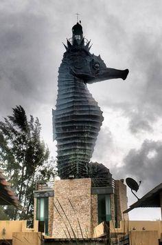 malaysia lighthouses | Seahorse Lighthouse - Miri, Malaysia