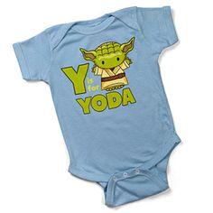 ThinkGeek :: Y Is For Yoda Bodysuit