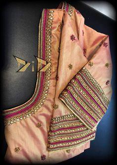 Wedding Saree Blouse Designs, Saree Blouse Neck Designs, Simple Blouse Designs, Maggam Work Designs, Designer Blouse Patterns, Sleeve Designs, Sumo, Work Blouse, Maggam Works