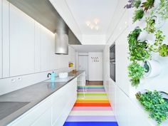 20 Creative Floors You Won't Be Able to Stop Staring At via Brit   Co
