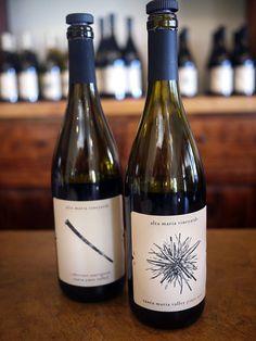alta maria vineyards in Los Olivos, CA - Santa Barbara wine country.