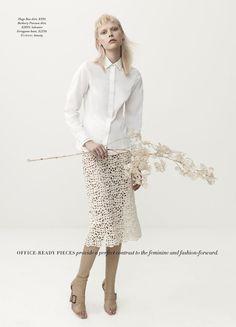 'The White Albume' Henna Lintukangas by Georges Antoni for Harper's Bazaar Australia 5