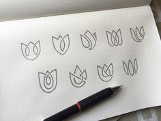 Lotus Logo Exploration by Yoga Perdana - Dribbble