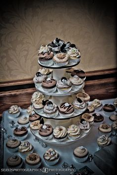 Wedding Cup Cakes Caboodle Bakery Terre Haute, IN