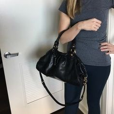 I just discovered this while shopping on Poshmark: Marc by Marco Jacobs leather handbag. Check it out! Price: $80 Size: OS, listed by zadijamie