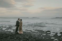 Beautiful, Atmospheric destination wedding in Iceland by Photographer: M&J Studio