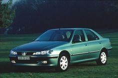 1997 Peugeot 406, Pascals 2nd company car, awfull heineken green