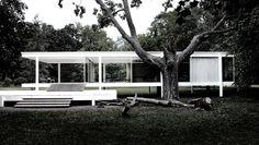 Ludwig Mies van der Rohe (1886-1969) | Edith Farnsworth Residence | Plano, Illinois | 1946-1951