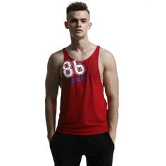 Fitness Comprehensive gym men Sleeveless tops bodybuilding clothing Sports quick-drying undershirt male Running sports vest