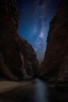 Into The Galaxy, Near Alice Springs, Australia