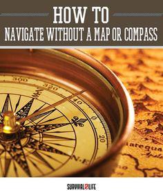 Primitive Navigation Without a Map or Compass by Survival Life at http://survivallife.com/2015/08/12/primitive-navigation/