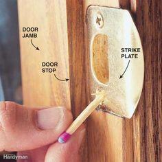 Quick Fix for Loose Screws