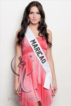 Miss Universe MARICAO, Ninoshka Isabel Gabrielini Pérez. #MissUniversePuertoRico2015 #MUPR2015 #MissMaricao #NinoshkaIsabelGabrielini
