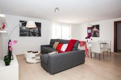 Located 100 metres from a sandy beach in Corralejo, Apartamentos Infinity provides self-catering accommodation with free WiFi access. apartment on Main Street Sofa, Couch, Free Wifi, Main Street, Catering, Infinity, Hotels, Furniture, Home Decor