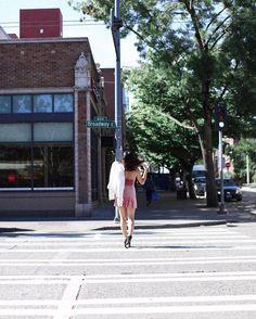 "329 Likes, 3 Comments - UO Seattle (@uoseattle) on Instagram: ""Sundays best wearing our favorite UO Velvet Straight-Neck Mini Dress | SKU #44122455 #UOonYou"""